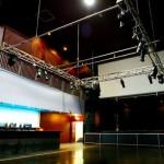 main bar and lighting rig